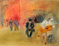 les musiciennes by jean dufy