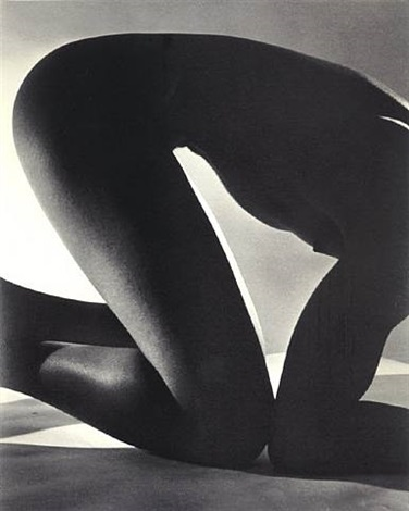 triangles (male nude) by horst p. horst