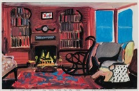 my little house at the sea by david hockney
