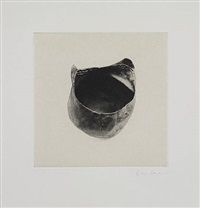 untitled 03, from twelve objects, twelve etchings by rachel whiteread