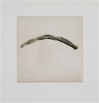 untitled 06, from twelve objects, twelve etchings by rachel whiteread