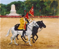 trooping the colour by henry koehler