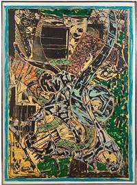 yellow journal by frank stella