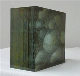 glasobjekt by peter wechsler