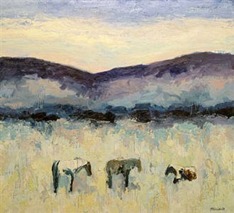 reinheimer's horses #4 by theodore waddell