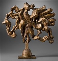 study for birth of the muses iv by jacques lipchitz