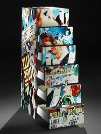 la dolce vita chest of 6 drawers by mimmo rotella