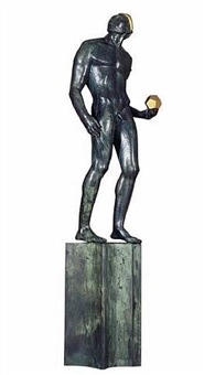 the astronomer by carl (wilhelm emile) milles