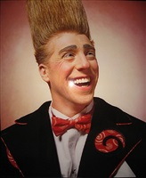 america (bello nock, 'america's best clown.' ringling bros. & barnum & bailey circus) by andres serrano
