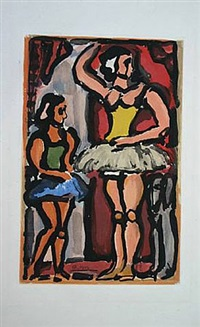 les ballerines by georges rouault