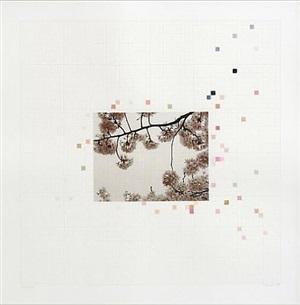 sakura chart #0.09 by darren almond