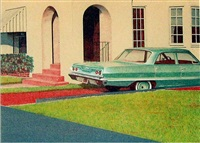 '63 bel air by robert bechtle