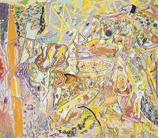 a fortune in solitude by larry poons
