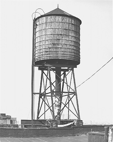water tower, new york city: houston / mercer st. by bernd and hilla becher