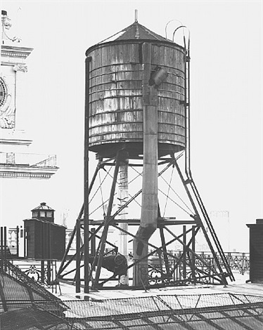 water tower, new york city: 346 broadway by bernd and hilla becher