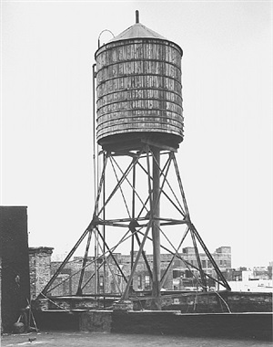 <!--46-->water tower, new york city: grand / mulberry st. by bernd and hilla becher