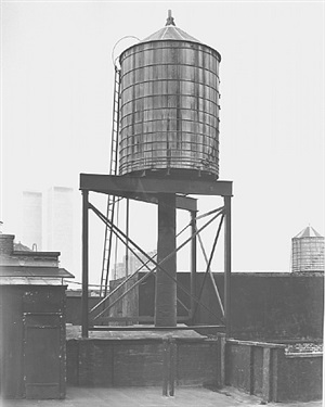 <!--47-->water tower, new york city: crosby / houston st. by bernd and hilla becher