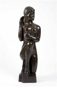 bathing girl by william zorach