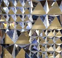 wall-mount mirror sculpture by verner panton by verner panton