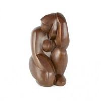 kneeling female nude by ferdinand parpan