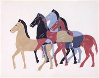 horses by charles sheeler