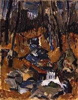 no. 4, fall of 1930 by john marin