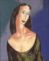 portrait of janet by alfred henry maurer