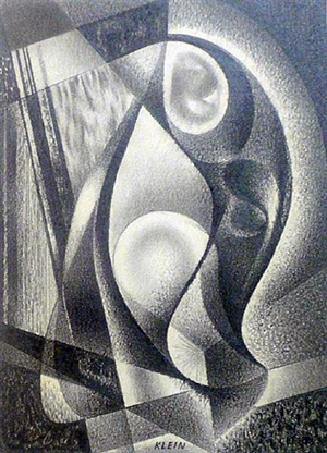 untitled abstraction by medard p. klein