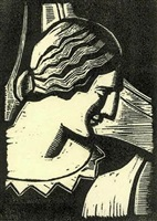 head of a woman by gregory orloff
