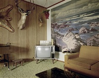 stampeder motel, ontario, oregon, july 19, 1973 by stephen shore