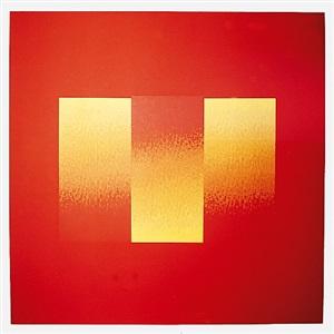 ohne titel (rot) by herbert bayer