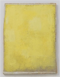 ohne titel (yellow frame painting #2) / untitled (yellow frame painting #2) by lawrence carroll