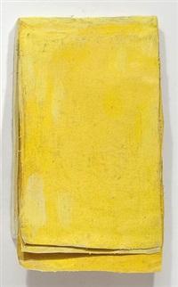 ohne titel (calendar yellow #3) / untitled (calendar yellow #3) by lawrence carroll