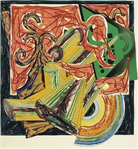 the butcher came and slew the ox by frank stella