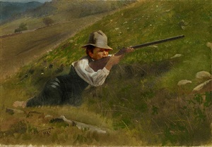 taking aim by john george brown