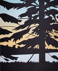 twilight 2 by alex katz