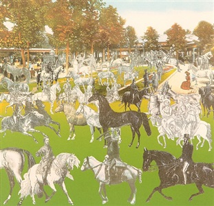vichy - horseshow by peter blake
