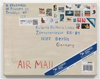 mail painting by nicole eisenman