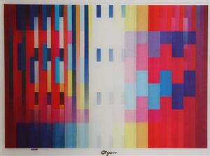 over the rainbow by yaacov agam