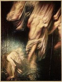 via crucis (after caravaggio) by thomas garner