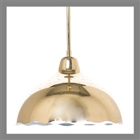 ceiling lamp by paavo tynell