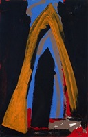 cathedral (study) by robert motherwell