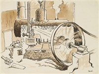 steam generator by thomas hart benton