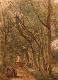 coubron by jean-baptiste-camille corot