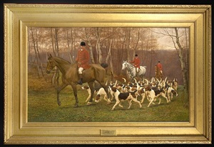listen how the hounds and horn etc by edward algernon stuart douglas