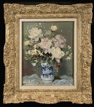 roses and daisies by marcel dyf
