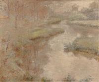 forest brook by robert reid