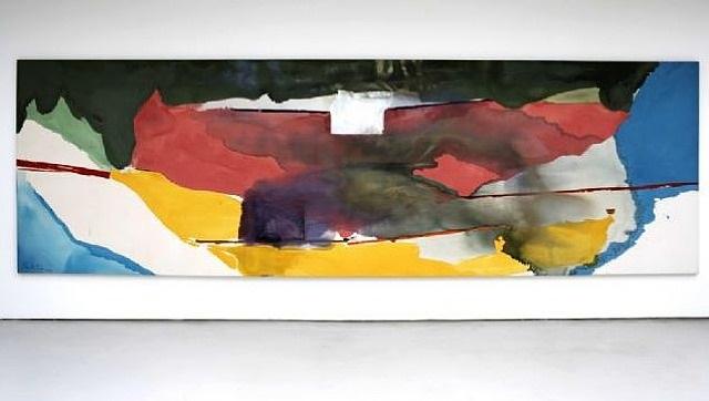 off white square by helen frankenthaler