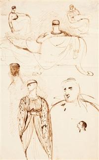 figure studies by benjamin robert haydon
