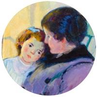 mother and child by bernhard gutmann